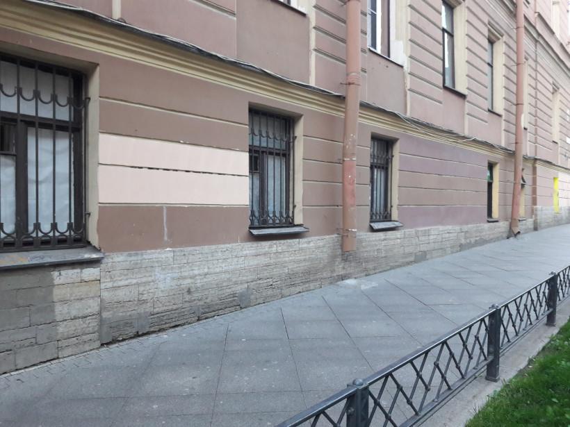 Слегка наклонный тротуар