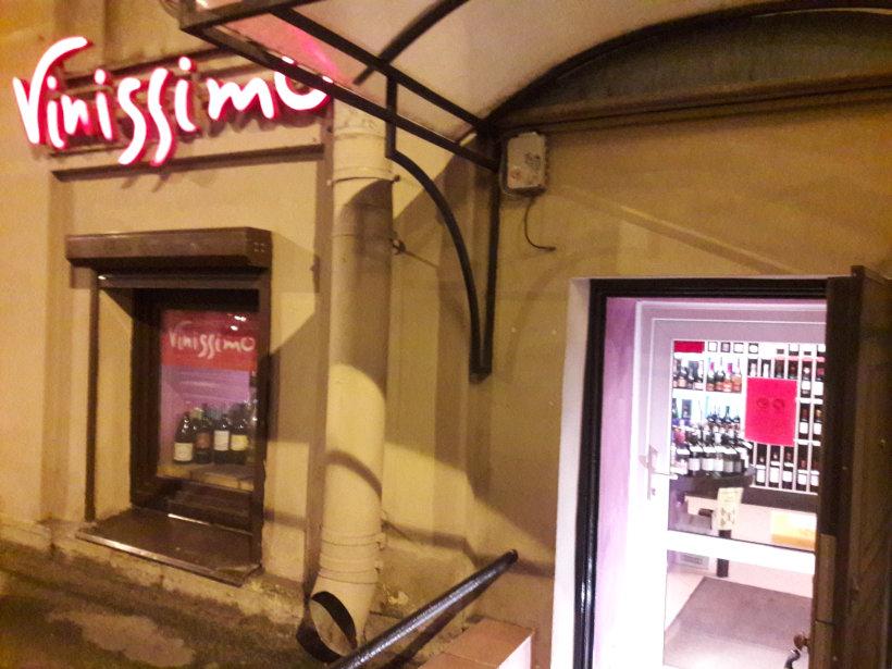 винный магазин «Vinissimo»